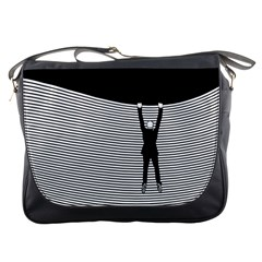 """hang On! Hang On!"" Messenger Bag"
