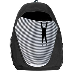 """Hang On! Hang On!"" Backpack Bag"