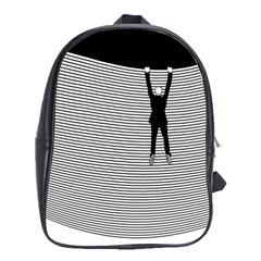"""Hang On! Hang On!"" School Bag (XL)"