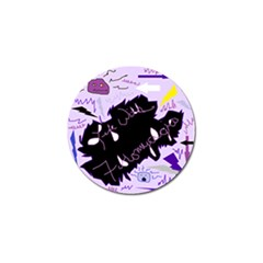 Life With Fibromyalgia Golf Ball Marker 4 Pack