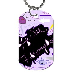 Life With Fibromyalgia Dog Tag (Two-sided)