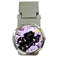 Life With Fibromyalgia Money Clip With Watch