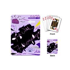 Life With Fibromyalgia Playing Cards (mini)