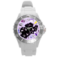 Life With Fibromyalgia Plastic Sport Watch (Large)