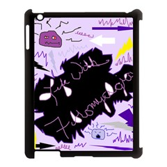 Life With Fibromyalgia Apple Ipad 3/4 Case (black)