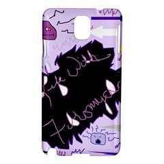 Life With Fibromyalgia Samsung Galaxy Note 3 N9005 Hardshell Case