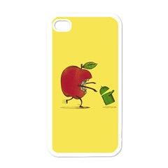 Paranoid Android Apple iPhone 4 Case (White)