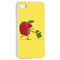 Paranoid Android Apple Iphone 4/4s Seamless Case (white)