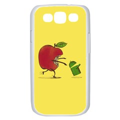 Paranoid Android Samsung Galaxy S III Case (White)