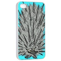 Porcupine Apple iPhone 4/4s Seamless Case (White)