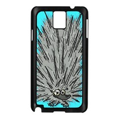 Porcupine Samsung Galaxy Note 3 N9005 Case (Black)