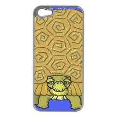 Tortoise Apple iPhone 5 Case (Silver)