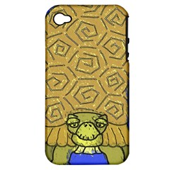 Tortoise Apple iPhone 4/4S Hardshell Case (PC+Silicone)
