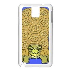 Tortoise Samsung Galaxy Note 3 N9005 Case (white)