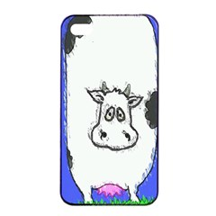 Cow Apple Iphone 4/4s Seamless Case (black)