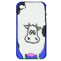 Cow Apple iPhone 4/4S Hardshell Case (PC+Silicone)