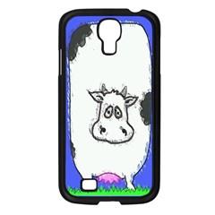 Cow Samsung Galaxy S4 I9500/ I9505 Case (Black)
