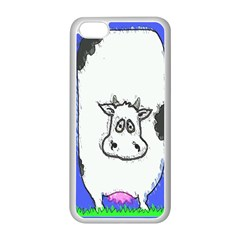 Cow Apple iPhone 5C Seamless Case (White)