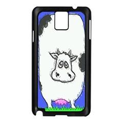 Cow Samsung Galaxy Note 3 N9005 Case (Black)