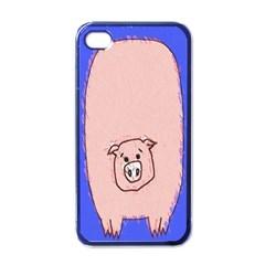 Pig Apple Iphone 4 Case (black)