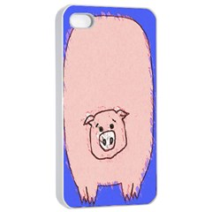 Pig Apple iPhone 4/4s Seamless Case (White)