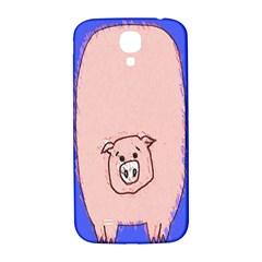 Pig Samsung Galaxy S4 I9500/I9505  Hardshell Back Case