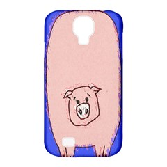 Pig Samsung Galaxy S4 Classic Hardshell Case (pc+silicone)