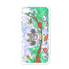 Stained Apple Iphone 4 Case (white)