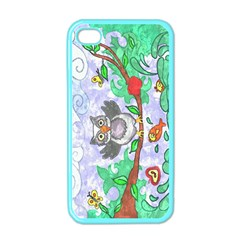 Stained Apple Iphone 4 Case (color)