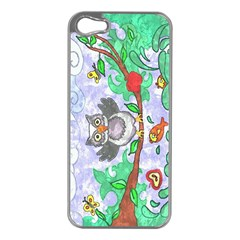 Stained Apple Iphone 5 Case (silver)