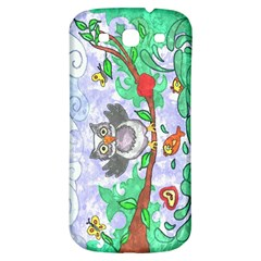 Stained Samsung Galaxy S3 S Iii Classic Hardshell Back Case
