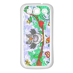 Stained Samsung Galaxy S3 Back Case (white)