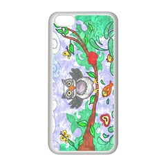 Stained Apple iPhone 5C Seamless Case (White)