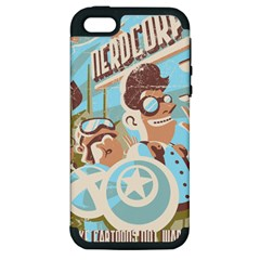 Nerdcorps Apple Iphone 5 Hardshell Case (pc+silicone)