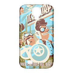 Nerdcorps Samsung Galaxy S4 Classic Hardshell Case (PC+Silicone)