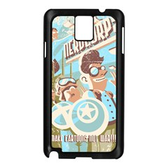 Nerdcorps Samsung Galaxy Note 3 N9005 Case (Black)