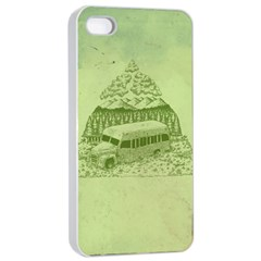 Into the Wild Apple iPhone 4/4s Seamless Case (White)