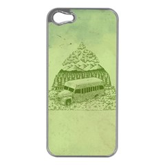 Into the Wild Apple iPhone 5 Case (Silver)
