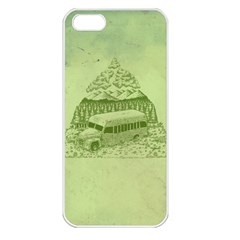 Into The Wild Apple Iphone 5 Seamless Case (white)