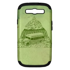 Into The Wild Samsung Galaxy S Iii Hardshell Case (pc+silicone)