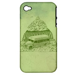 Into The Wild Apple Iphone 4/4s Hardshell Case (pc+silicone)