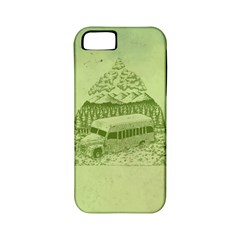 Into The Wild Apple Iphone 5 Classic Hardshell Case (pc+silicone)