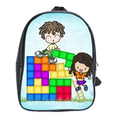 With You Life Just Fits School Bag (Large)