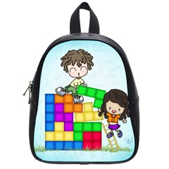 With You Life Just Fits School Bag (small)