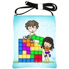 With You Life Just Fits Shoulder Sling Bag
