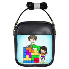 With You Life Just Fits Girl s Sling Bag