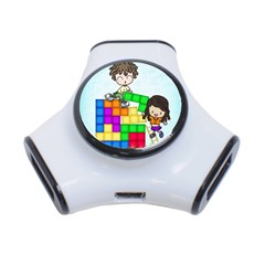 With You Life Just Fits 3 Port USB Hub