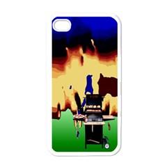 Barbaque Apple iPhone 4 Case (White)