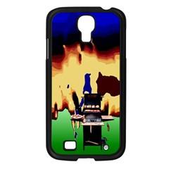 Barbaque Samsung Galaxy S4 I9500/ I9505 Case (Black)