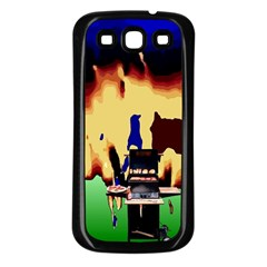 Barbaque Samsung Galaxy S3 Back Case (Black)